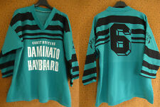 Maillot Rugby Le Soler XIII Construction 90'S Daminato Haybrard Porté #6 - L