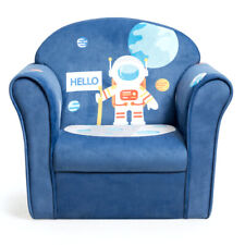 Kids Astronaut Sofa Children Armrest Couch Upholstered Chair Toddler Furniture