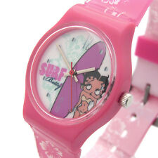 Betty Boop Ladies or Girls Watch Pink Surf Bikini 14a