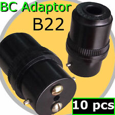 10pcs B22 Adaptor BC bulb Lamp Holder connector DIY Light Fitting Accessories AC