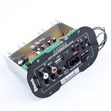 1PC 220V 50W Car Accessory Bluetooth HiFi Bass Audio Amplifier USB TF MP3 FM