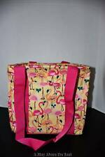 Thirty One SMALL Utility Tote in Let's Flamingle NWT