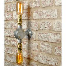FLETCHER Wall Light. 20% VAT inc. Industrial 2 way Vintage Retro CE MARKED
