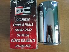 CHAMPION HARLEY-DAVIDSON OIL FILTER CHROME C307/HF173 ALL DYNAS WIDE GLIDE