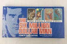 The Six Million Dollar Man, Steve Austin Lee Majors, Parker Brothers Board Game