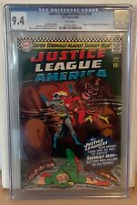 JUSTICE LEAGUE OF AMERICA #45 - CGC 9.4 - ORIGIN & 1ST APPEARANCE OF SHAGGY MAN