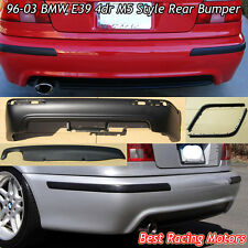 M Style Rear Bumper Cover (PP) [Single Exhaust] Fits 96-03 BMW E39 5-Series