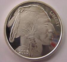 Buffalo  Indian  2015   1  Troy oz  Silver Coin