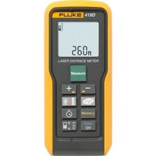 Fluke 419D Laser Distance Meter, 80m/260ft Max Range