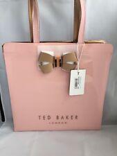 BNWT Ted Baker designer bow icon tote Bag/handbag Pale Pink(59) large