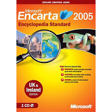 Microsoft Encarta Encyclopedia Standard 2005 (CD Only No Box)