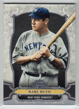 Babe Ruth Not Autographed Baseball Cards