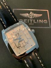 New ListingBreitling Bentley Flying B No.3 Silver Dial Stainless Steel on Strap A16362