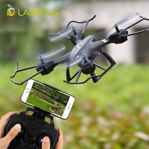 Foldable Drone With 2MP HD Camera Remote Control Helicopter Smart Quadcopter