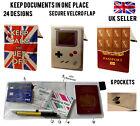 20+ DESIGNS TRAVEL WALLET DOCUMENT HOLDERS COVER FOLDER BAG ORGANISER TICKETS ID