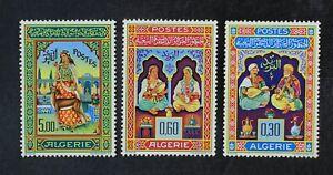 CKStamps: Algeria Stamps Collection Scott#341-343 Mint LH OG
