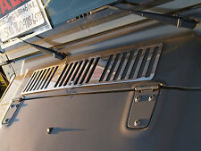 JEEP WRANGLER TJ HOOD VENT COVER STAINLESS STEEL