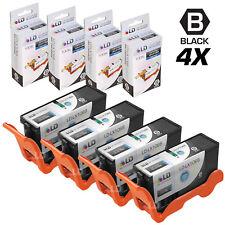 LD Compatible Lexmark 100XL / 100 14N1068 4pk High Yield Black Inkjet Cartridges