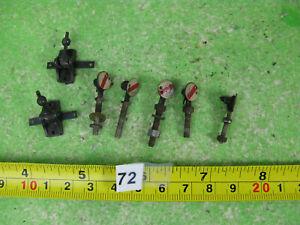 vintage unusual signals ? & point levers x2 mixed model railway OO gauge n72