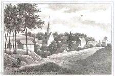 STEINBACH Lithografie aus Sachsens Kirchengalerie Kirchengallerie um 1840