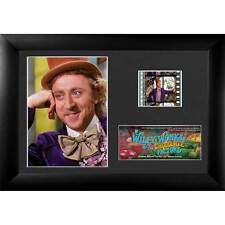 NEW Gene Wilder Willy Wonka And The Chocolate Factory Minicell Film Cells Plaque