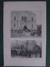 1917 WWI WW1 PRINT INTERCESSION SERVICE RUSSIAN IMPERIAL FAMILY ~ TSAR TO FRONT