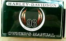1996  Harley-Davidson Owners Manual (original Sealed) All Models With VHS Tape