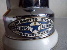 Vintage STELLA Art Deco Prodotto Brevettato Espresso Maker Electric