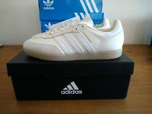 Adidas Velosamba SPD Cycling Shoes Cream White Size 8.5 UK BNIBWT