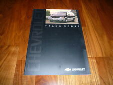 Chevrolet Trans Sport Prospekt 2003