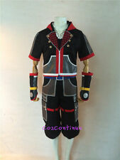 Sora Kingdom Hearts 3 III Cosplay Costume Full Set Necklace Halloween