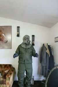 US military sealed NBC MOPP protective suit green olive drab size medium + xtras