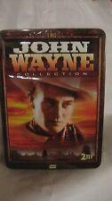 Tmg John Wayne Collection 2 DVD Vidéo en Collector Boite From Timeless dvd23