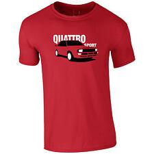 Lumipix Quattro Sport Mens Car T-Shirt Gift For Anyone
