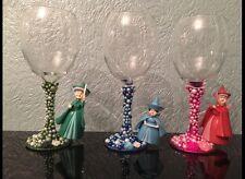 Disney Fairies verres à vin, Sleeping Beauty X faune flore-Merriweather Lot de 3