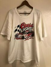 Sterling Marlin Coors Light vintage NASCAR Racing t-shirt (size: XL)
