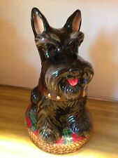DAVID's Cookies Aberdeen Terrier Scottie  Dog Cookie Jar For Jeffrey Banks Home
