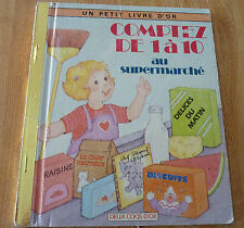 Un Petit Livre D'or Comptez de 1 à 10 au Supermarché ! Little Golden Book