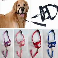 1PC Pet Dog Adjustable Bark Bite Nylon Mouth Muzzle Cover Grooming Anti Chewing