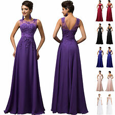 Womens Wedding Masquerade Bridemaids Formal Celebrity Style Long Dress Ball Gown