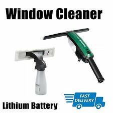 NEW CORDLESS WINDOW POWER SQUEEGE CLEAN FORCE LI-ION LITHIUM BATTERY HOME OFFICE