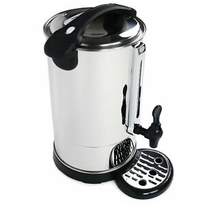 NEW! 8L Commercial Catering Kitchen Hot Water Boiler Tea Urn Coffee