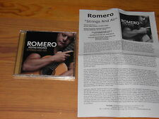 HERNAN ROMERO - STRINGS AND AIR / ALBUM-CD 2015 & INFO-BLATT