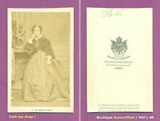CDV MAYER & PIERSON/PARIS : ADELINA PATTI CHANTEUSE ITALIENNE OPÉRA, 1865  -L48