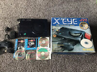JVC X'EYE Console AUTHENTIC console Complete In Box CIB WORKS W/ Games