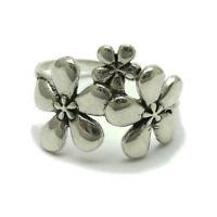 Sterling silver ring solid 925 Flower R001701 Empress