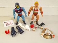 MOTU Lot Masters of the Universe Terror Claw Skeletor Flying Fists He-Man Clips!