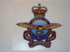 "2 X  ROYAL CANADIAN AIR FORCE  4"" BRITISH ARMY USA  MILITARY INSIGNIA"