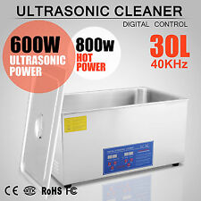Pro Stainless Steel 30l Liter Ultrasonic Cleaner CE FCC and RoHS Approved