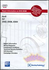SHOP MANUAL Q7 SERVICE REPAIR AUDI BOOK ROBERT BENTLEY CD DVD